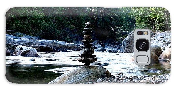 Zen Rock Tower Galaxy Case