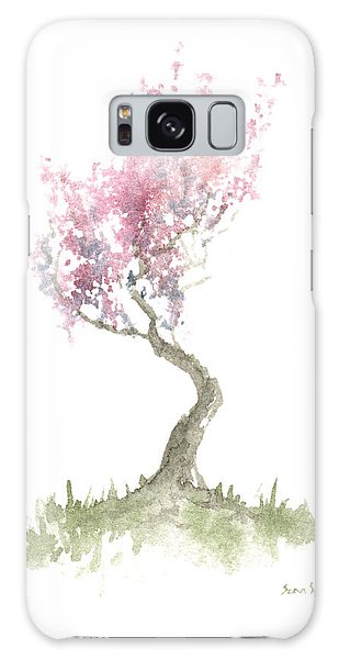Zen Tree In Spring Galaxy Case