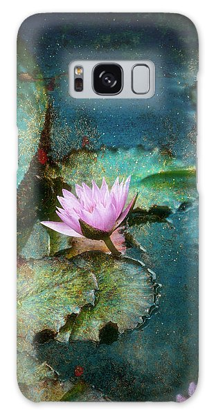Zen Water Lily Galaxy Case