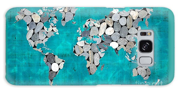 Usa Map Galaxy Case - Zen World Map by Delphimages Photo Creations