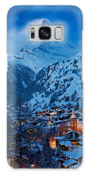 Zermatt - Winter's Night Galaxy Case