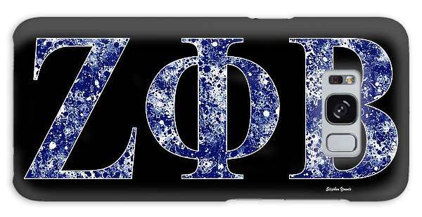 Zeta Phi Beta - Black Galaxy Case by Stephen Younts