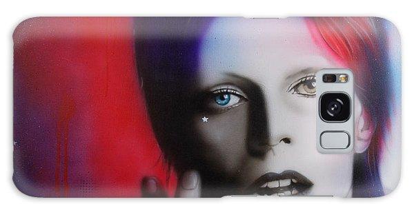 Celebrities Galaxy Case - Ziggy Stardust by Christian Chapman Art