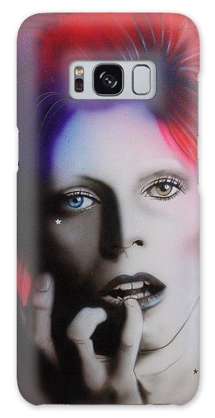 Celebrity Galaxy Case - Ziggy Stardust by Christian Chapman Art
