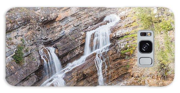 Zigzag Waterfall Galaxy Case by John M Bailey