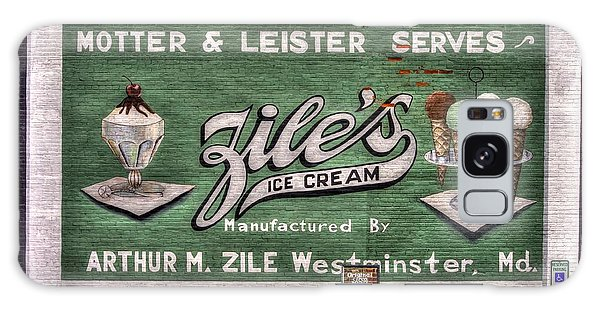 Ziles Ice Cream Mural - Taneytown Carroll County Md Galaxy Case
