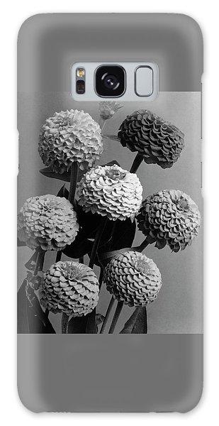 Zinnia Lilliput Flowers Galaxy Case