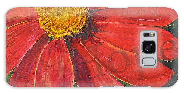 Zinnia Of Hope Galaxy Case