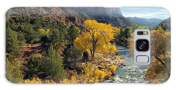Zion National Park In Fall Galaxy Case