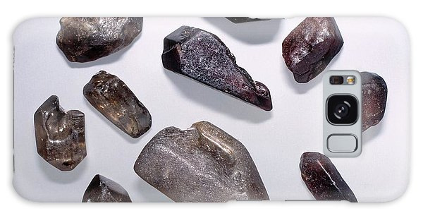 Nigeria Galaxy Case - Zircon Specimens by Natural History Museum, London/science Photo Library