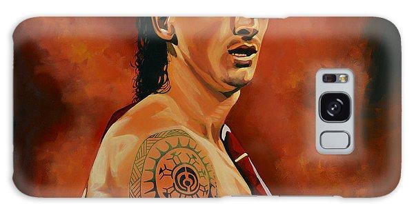 Sweden Galaxy Case - Zlatan Ibrahimovic Painting by Paul Meijering