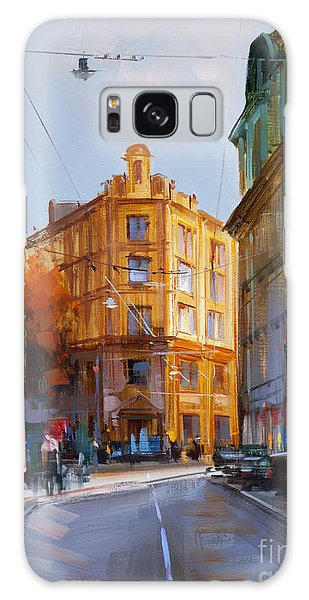 Moscow Skyline Galaxy S8 Case - Zlatoustinskiy Alley.  by Alexey Shalaev