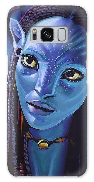 Zoe Saldana As Neytiri In Avatar Galaxy Case