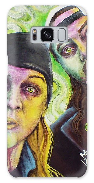 Ben Affleck Galaxy Case - Zombie Jay And Silent Bob by Mike Vanderhoof