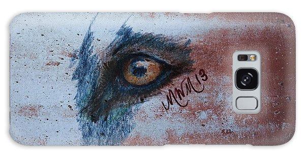 Zombie Wolf Eye Galaxy Case