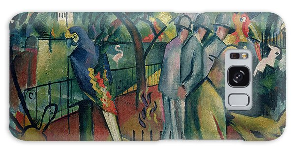 Cockatoo Galaxy S8 Case - Zoological Garden I, 1912 Oil On Canvas by August Macke