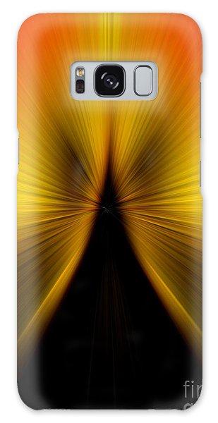 Zoom Orange Yellow Galaxy Case