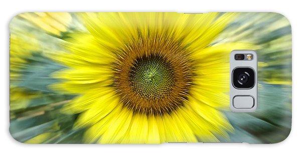 Zoom Sunflower Galaxy Case