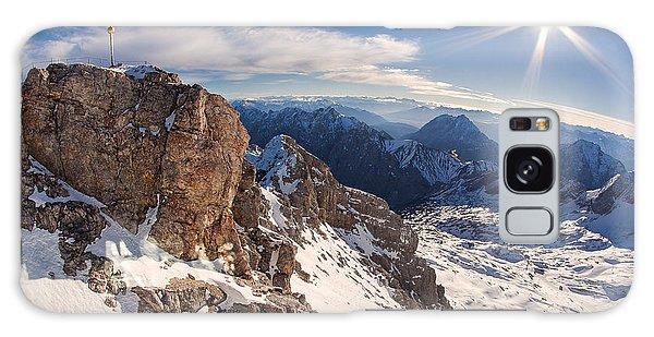 Zugspitze Summit Galaxy Case