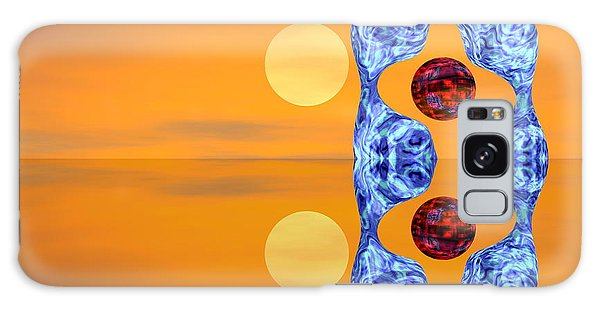 An Artistic Colored And Fantasy Galaxy Case by Odon Czintos