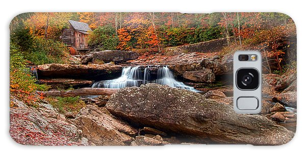 Autumn Leaves At The Mill Galaxy Case by Randall Branham