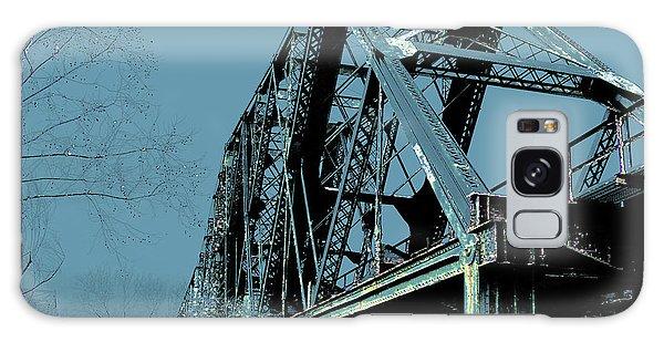 Mississippi River Rr Bridge At Memphis Galaxy Case