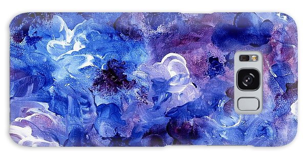 Painting Of Flowers Energy In Abstract Form Galaxy Case by Annie Zeno