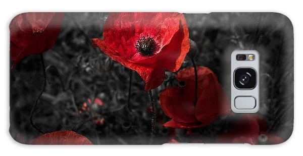 Poppy Red Galaxy Case