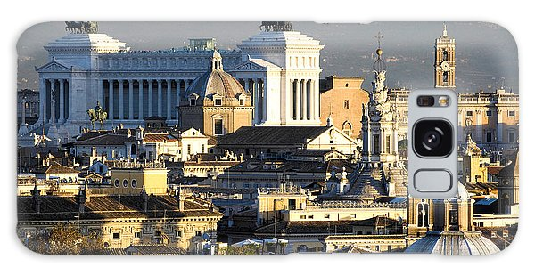 Rome's Rooftops Galaxy Case