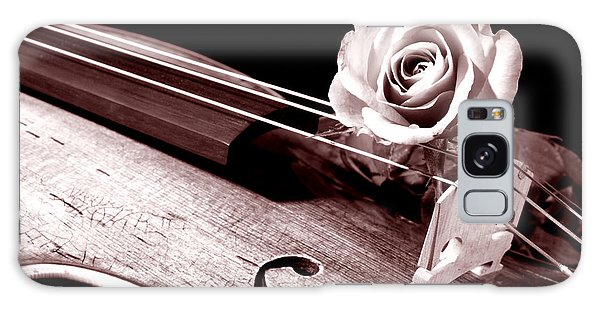 Rose Violin Viola Galaxy Case