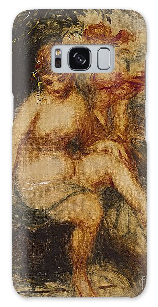 Mythological Galaxy Case -  Venus And Love Allegory by Pierre Auguste Renoir