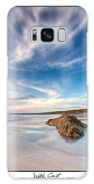 Welsh Coast - Porth Colmon Galaxy Case by Beverly Cash