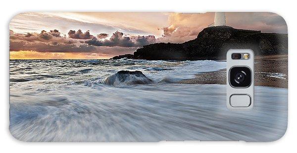 Llanddwyn Island Lighthouse Galaxy Case