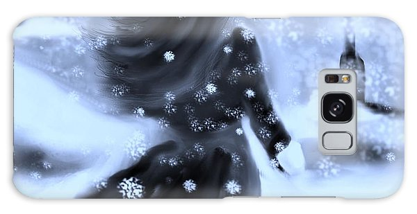 A Winters Walk Galaxy Case
