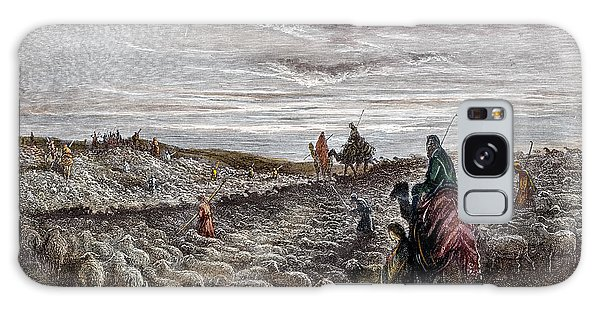 Pasture Galaxy Case - Abraham Entering Canaan by Gustave Dore