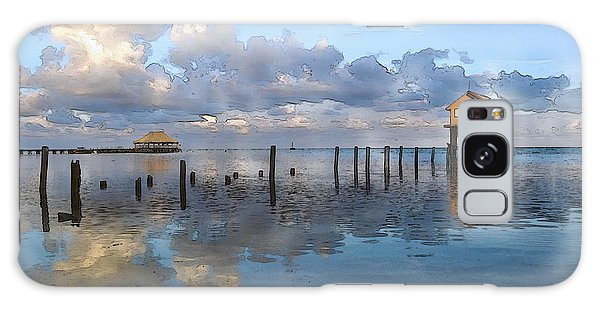 Ambergris Caye Belize Galaxy Case