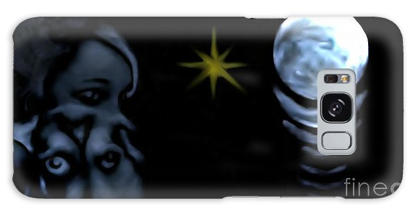 Amour Chiot Galaxy Case by Ayasha Loya