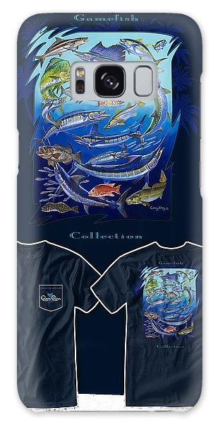 Bahamas Galaxy Case - Atlantic Gamefish by Carey Chen