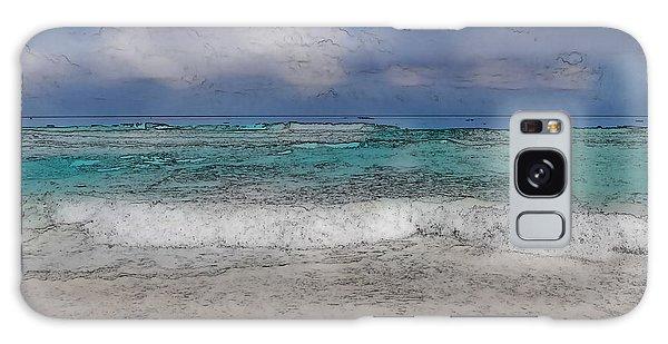 Beach Background Galaxy Case