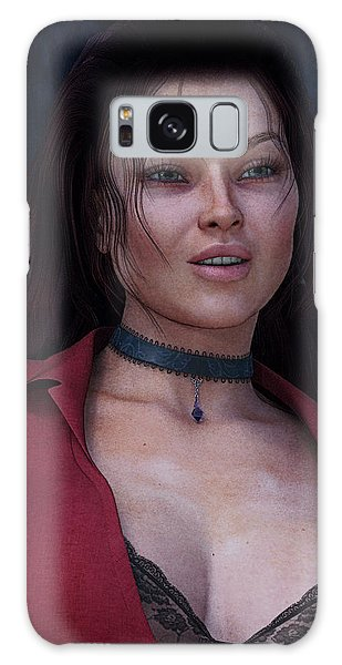 Beautiful Portrait Galaxy Case