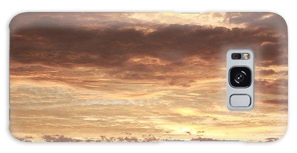 Beautiful Sunset Galaxy Case by Ann Murphy