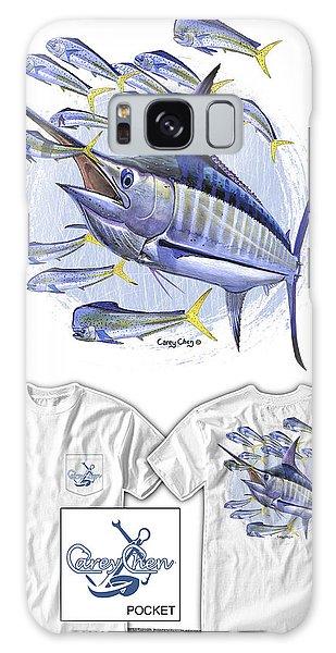 Bahamas Galaxy Case - Blue Marlin by Carey Chen