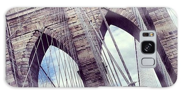 Transportation Galaxy Case - Brooklyn Bridge by Randy Lemoine