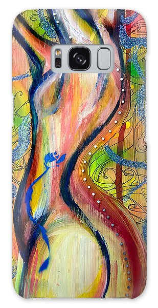 Butterfly Caught II Galaxy Case by Sheridan Furrer