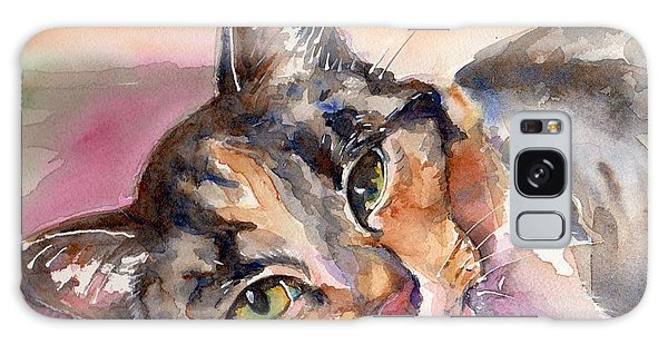 Calico Cat Galaxy Case - Calico Kitty by Maria Reichert