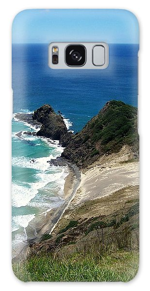 Cape Reinga - North Island Galaxy Case by Peter Mooyman