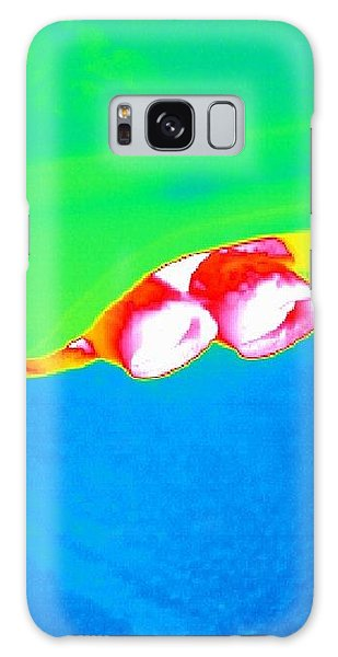 Dual Exhaust Galaxy Case - Car Exhaust, Thermogram by Tony Mcconnell