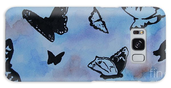 Chasing Butterflies Galaxy Case