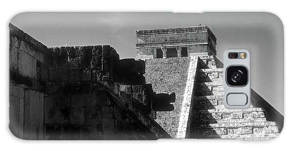 Chichen Itza Ruins Yucatan Mexico Galaxy Case