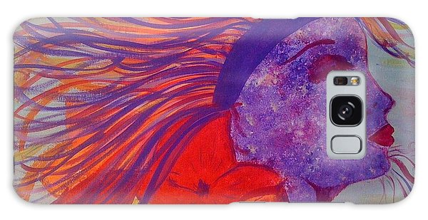 Coloured Beauty Galaxy Case by Judi Goodwin